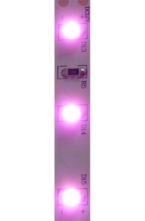 Led szalag 60 led/m, 3528 chip, extra fényerő, pink/rózsaszín, 2 év garancia!