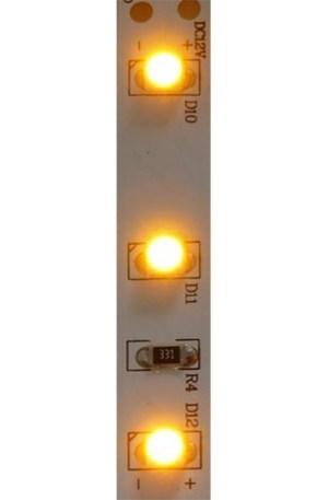 Led szalag 60 ledm, 4,8W, 2835 chip, sárga, extra erős fény, IP65 vízálló. Life Light Led. 2 év garancia
