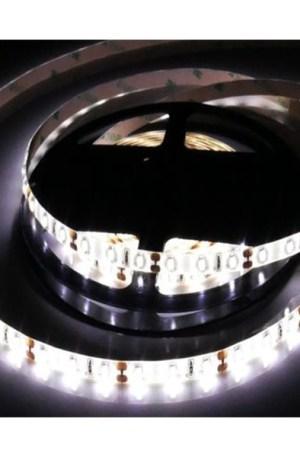 """Led szalag 2835 vízálló, 120 led/m, közép fehér, IP65, 880 Lumen,, """"E"""" dupla fényerő! Kivitelezőknek"""