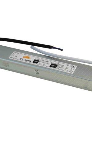 Led tápegység 30W vízálló DC12V, 2,5A, fém, IP65