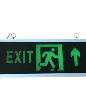 Led exit lámpa fel (előre)