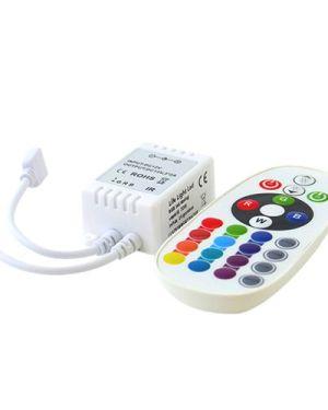 led szalag vezérlő RGB infra 72W, 24 gombos