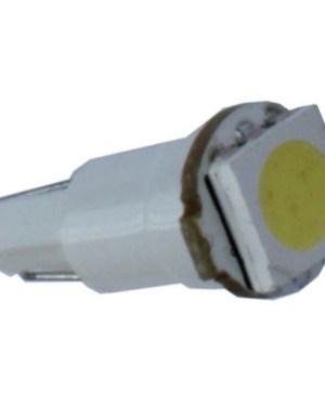 Autós led T5 műszerfal világítás, 1 led, 15 Lumen, 0,4W, hideg fehér