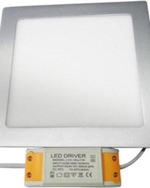 Led panel világítás 12W, driverrel, kocka