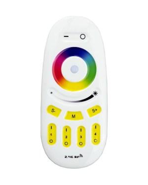 Távirányító 4 zónás RGBW+RGB+Dimmer (FUT096)