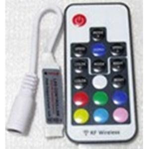 Rádió frekvenciás 17 gombos RGB LED szalag vezérlő