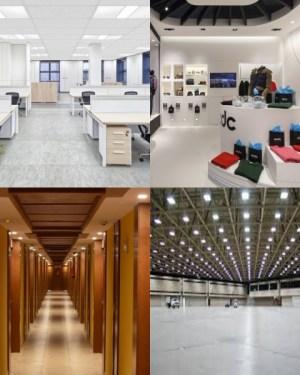 Üzlet, Iroda, Hotel, Műhely világítás