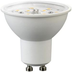 Led GU10 spot égő 7W, 680 lumen, 70W izzó helyett, 4200K, közép fehér, 120°, nem vibrál a fénye! Átlátszó búra!