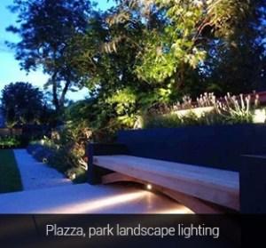 Vízálló kerti lámpa 15W 1200 Lumen (FUTC03) Plaza landscape