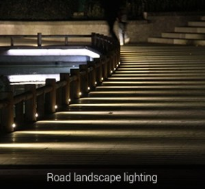 Vízálló kerti lámpa 15W 1200 Lumen (FUTC03) road landscape