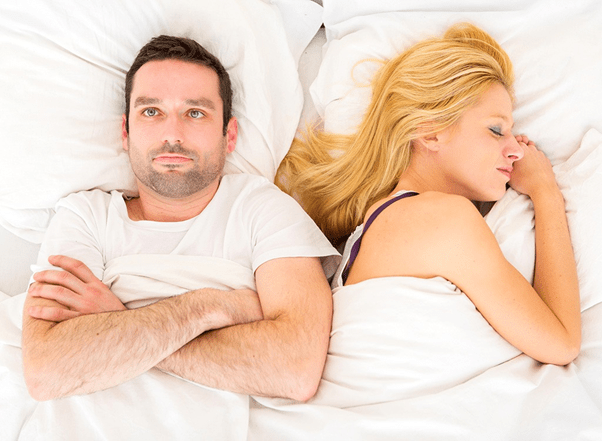 Decreased sexual tension due to snoring. ledhealthandfitness