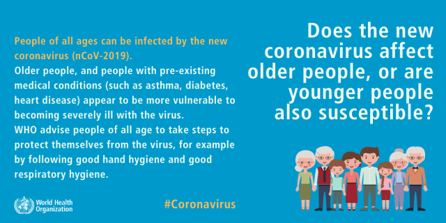 who is vulnerable to the covid-19