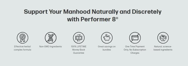 health benefits of performer 8 supplement