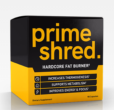 prime shred natural fat burner to lose weight easy