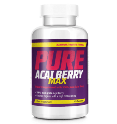 pure acai berry max by bauer nutrition