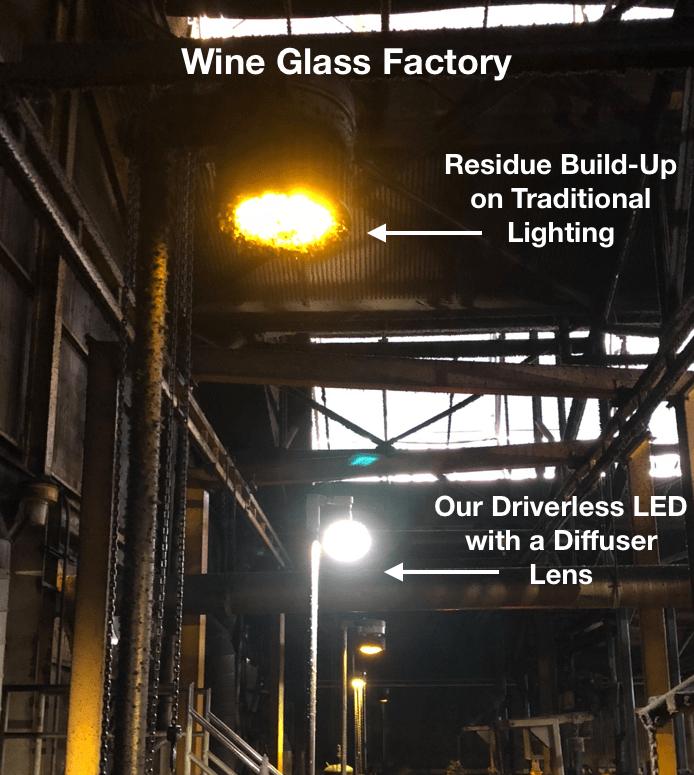 Glass Plant Light