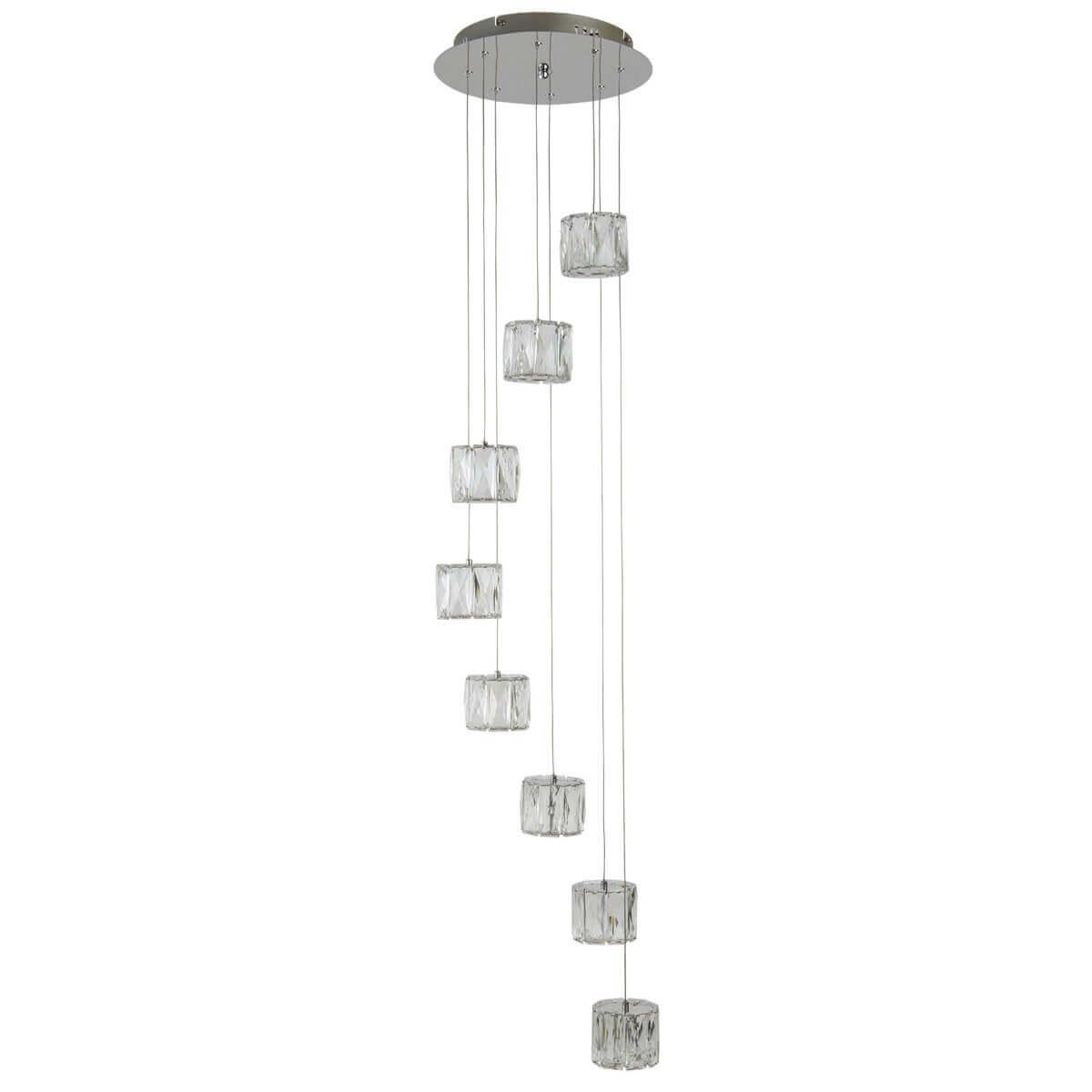 Maxim Led 8 Light Octagon Ceiling Mu Lighti Drop Clear