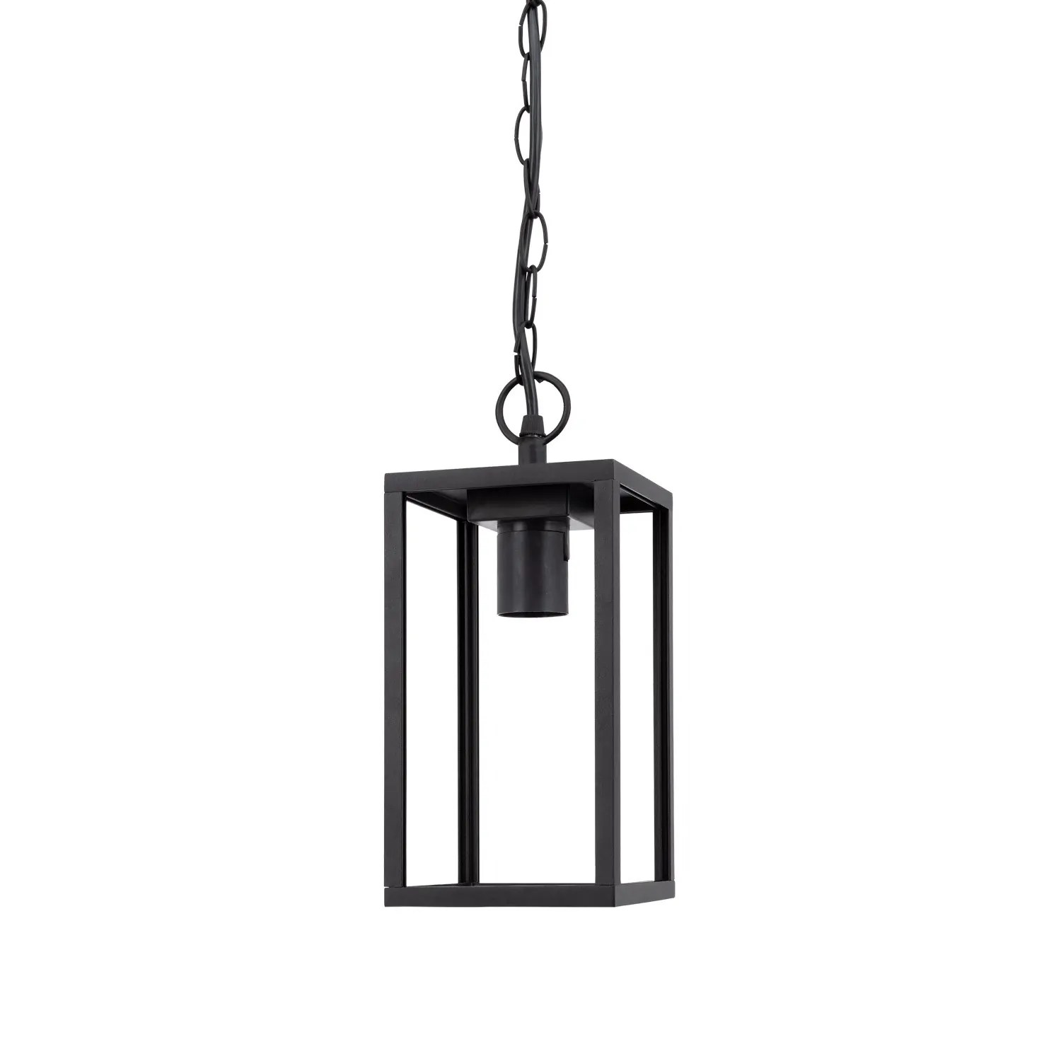 Black Atrium Pendant Light