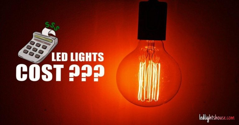 led lights cost