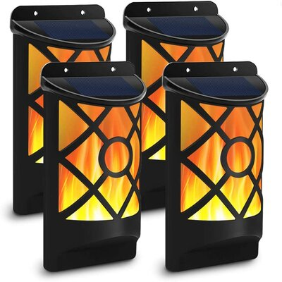 solar lights for fences