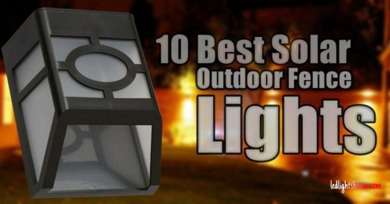 best solar fence lights