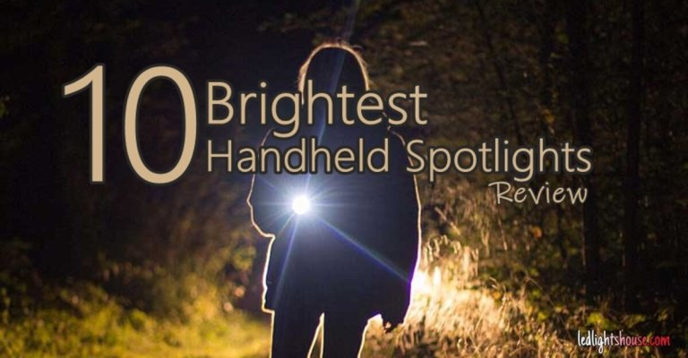 brightest handheld spotlight