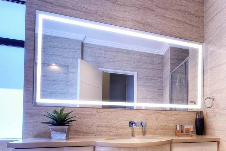 The LED Mirrors as Both a Functional and Decorative Object