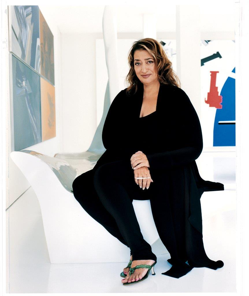 Zaha Hadid Photo by Alberto Heras