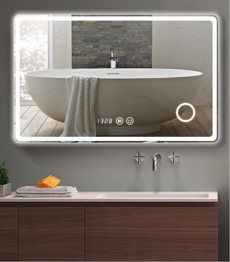2021 Modern Luxury Bath Mirrors Anti, Luxury Vanity Mirror With Lights