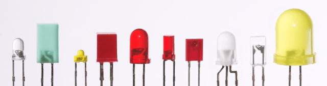 Various low-power LEDs.