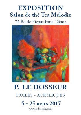 Exposition Peintures Tea Melodie Paris