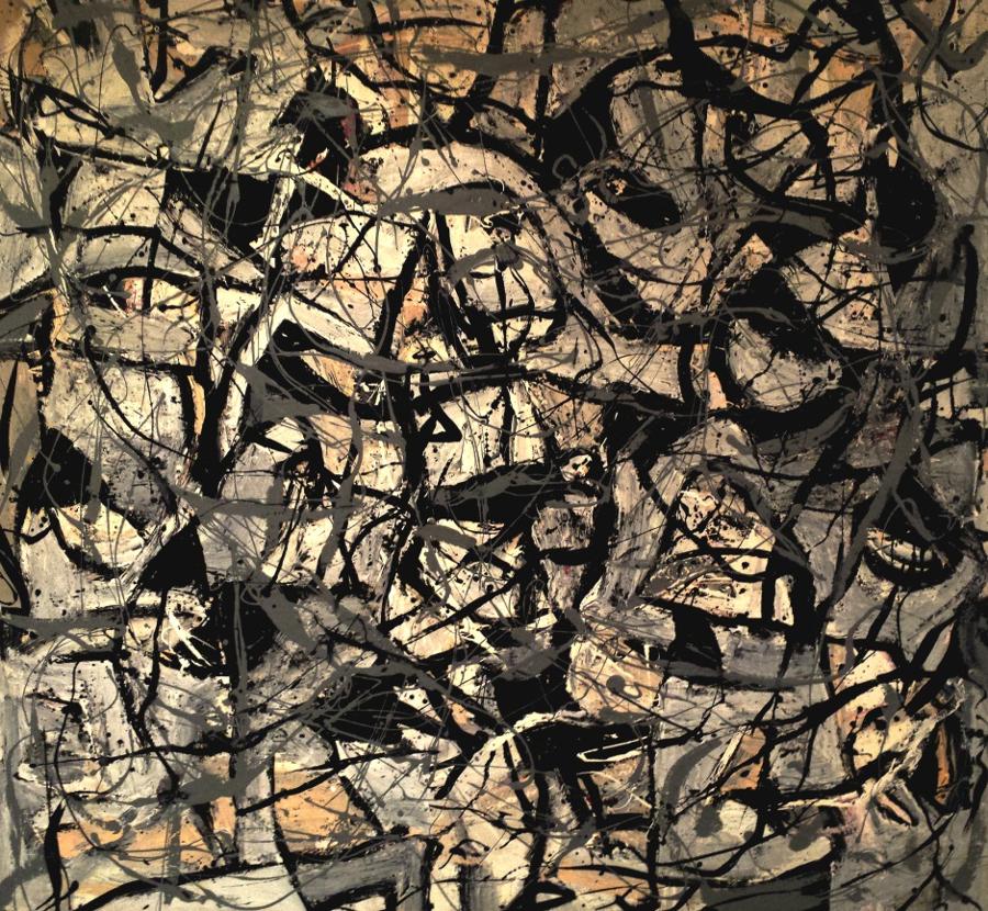 Le rocher aux Points-Paumes, grotte Chauvet (36 000 ans)