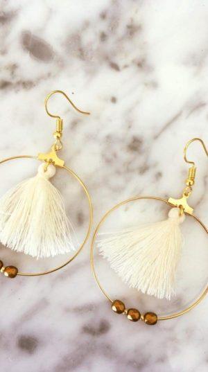 boucles d'oreilles de la boutique de Bichette