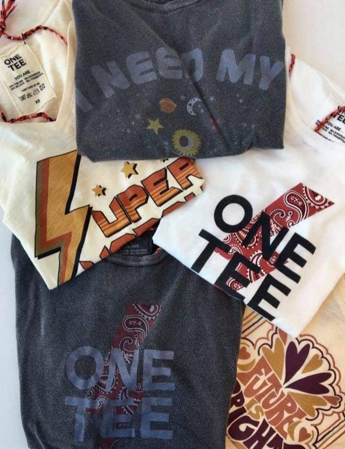 tee shirt à messages