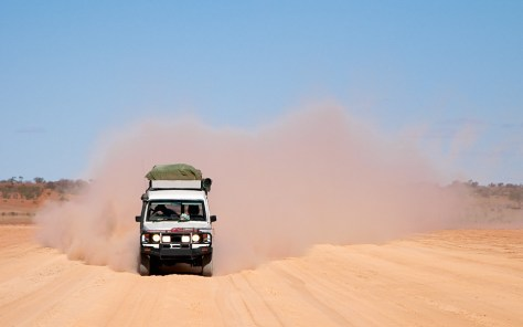 Dusty 4×4 Road Trip