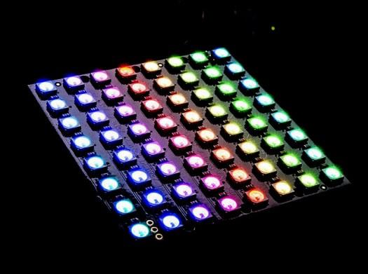 Panneau LED WS2812b