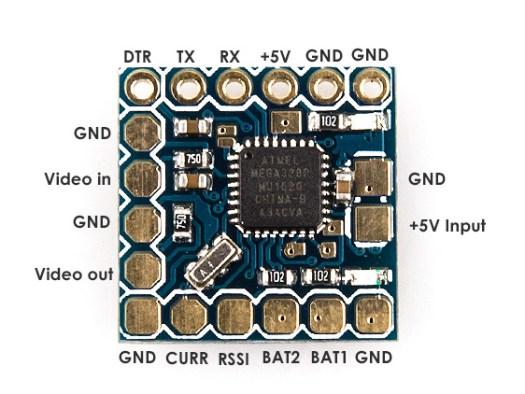 MinimOSD Micro