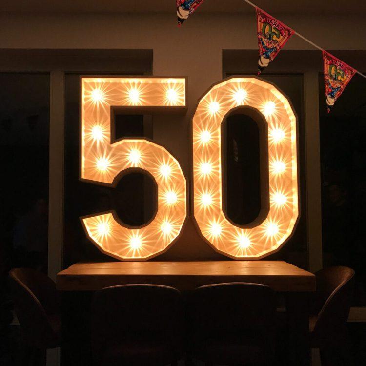 Lichtcijfers 50