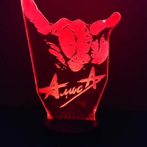 3D светильник АлисА