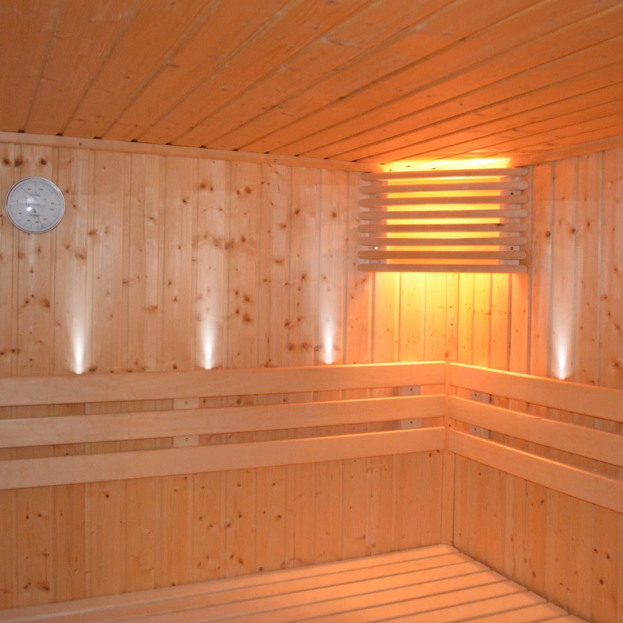 Комплект оптоволоконного освещения для сауны