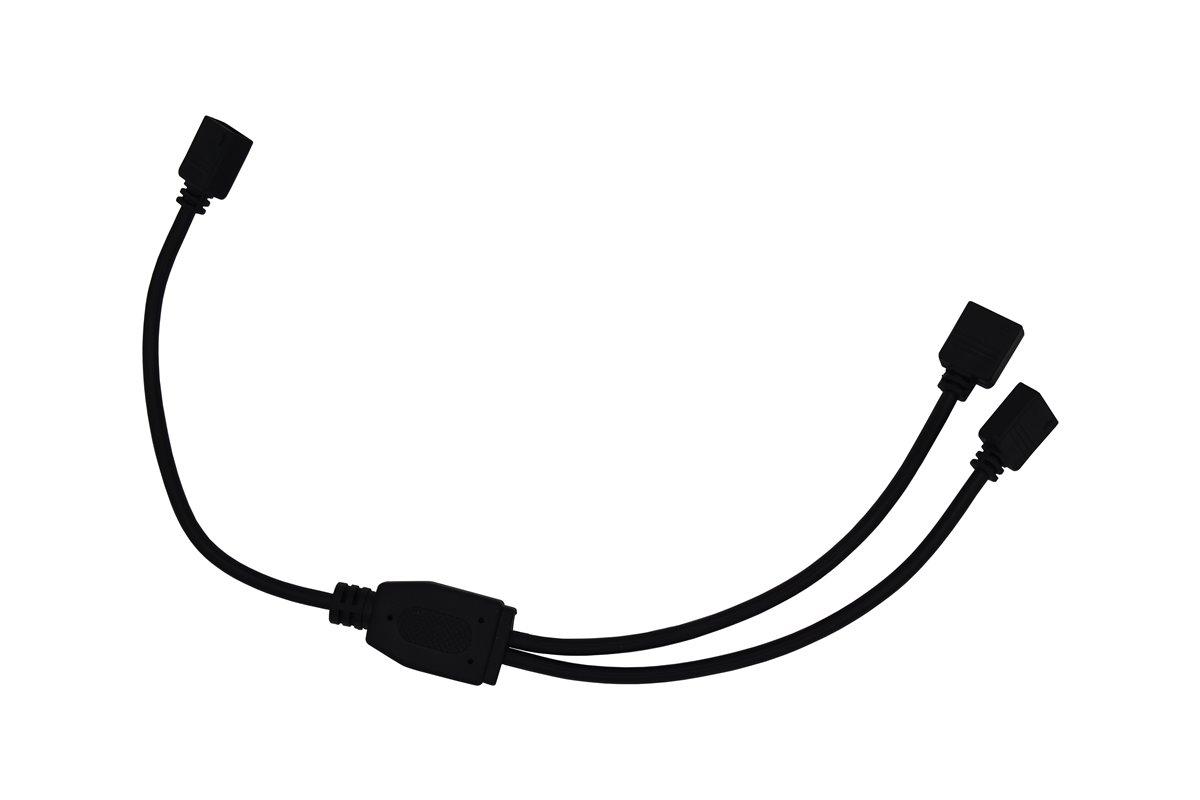 Rgb 4 Pin Y Kabel 30 Cm Schwarz Led Streifen Splitter
