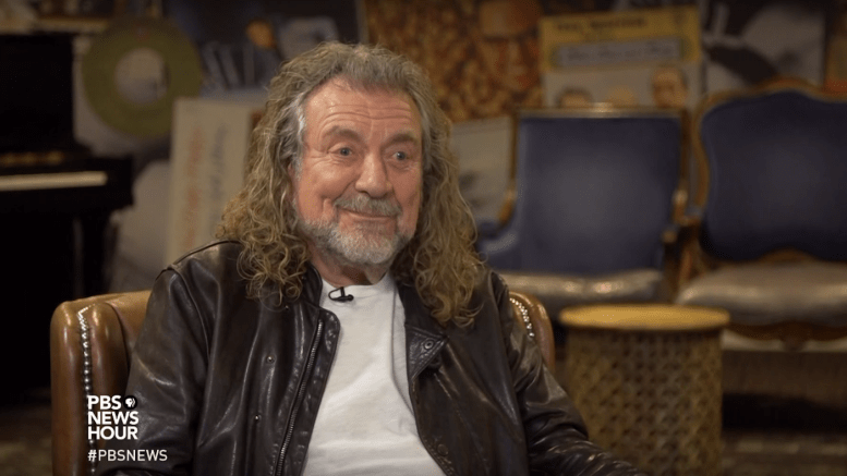 Robert Plant performed 'Immigrant Song' for the first time