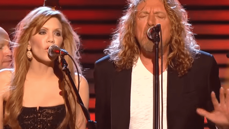 Robert Plant said that he and Alison Krauss are talking