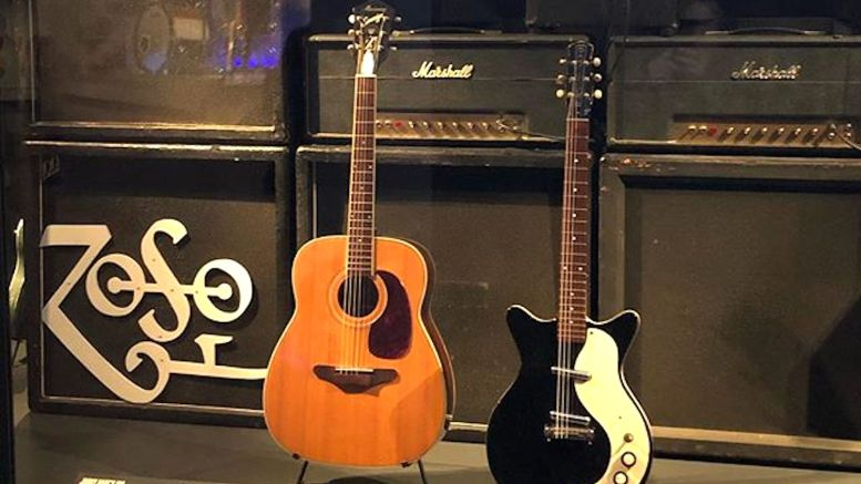 photos see jimmy page 39 s guitars on display in a new museum exhibition led zeppelin news. Black Bedroom Furniture Sets. Home Design Ideas