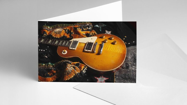 Jimmy Page The Anthology card