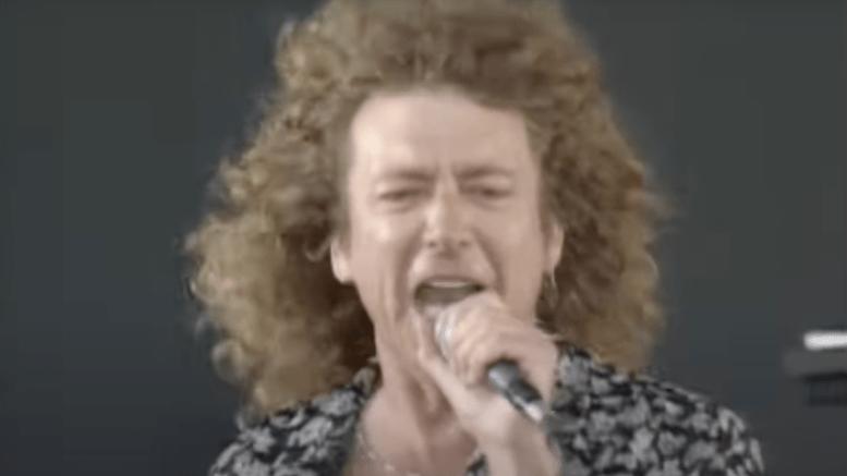 Robert Plant Knebworth 1990