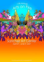 Sanchez Art Center Arts on Fire