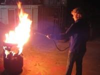 fire fog experiments