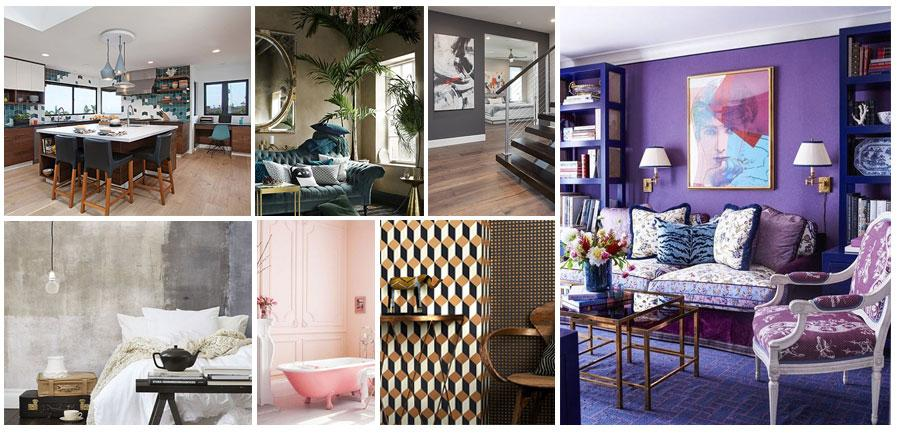 The 18 Top Interior Design Trends For 2018: Velvet Is BACK