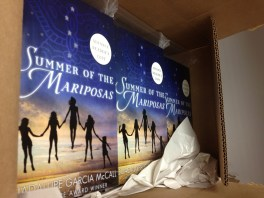 Summer of the Mariposas ARCs